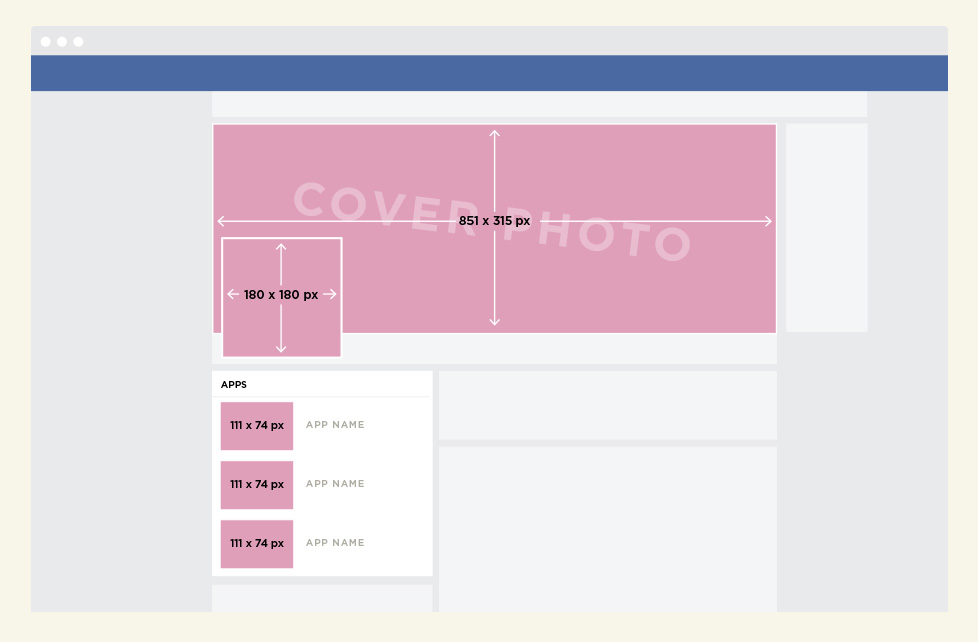 facebook page guidelines for cover photos profile images. Black Bedroom Furniture Sets. Home Design Ideas